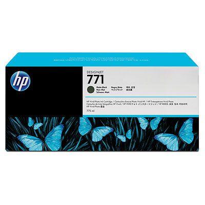 Расходный материал HP HP 771 775-ml Matte Black Designjet Ink Cartridge CE037A