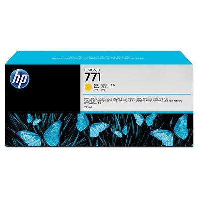 Расходный материал HP HP 771 775-ml Yellow Designjet Ink Cartridge CE040A CE040A