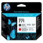 ��������� �������� HP HP 771 Matte Black/Chromatic Red Designjet Printhead CE017A