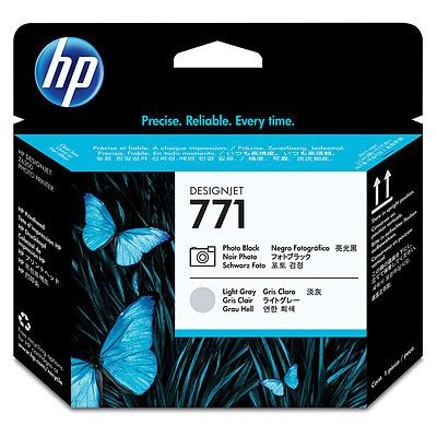 HP 771 ���������� ������� Black/Light Gray-������/������-����� (CE020A)