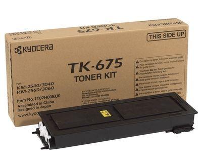 Тонер-картридж Kyocera Black/Черный (TK-675)