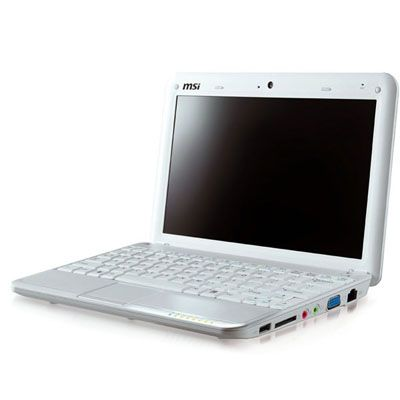Ноутбук MSI Wind U135DX-1692 White