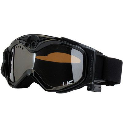 Liquid Image Морозостойкая видео-маска LIC335BLK Summit Series Snow Board Goggle Cam (Black)