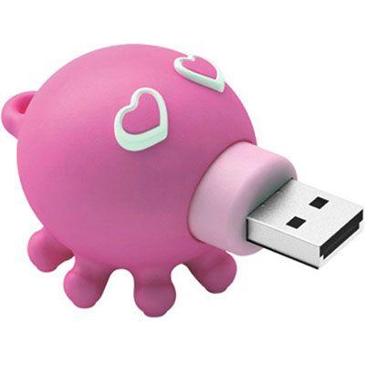 Флешка ADATA 4Gb T806 Pink