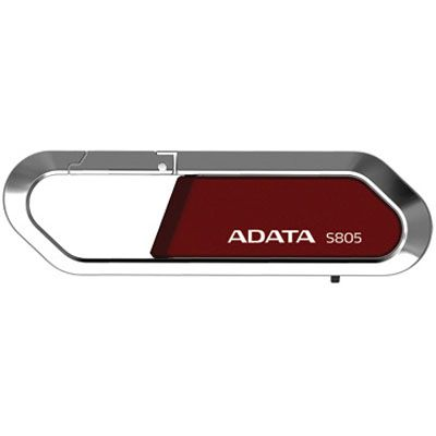 Флешка ADATA 16Gb S805 Red AS805-16G-RRD
