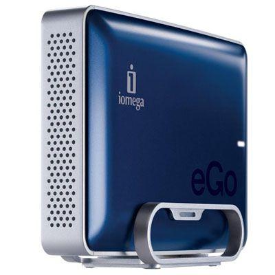 """Внешний жесткий диск Iomega eGo Desktop 3.5"""" 1000Gb USB 2.0 Midnight Blue 34942"""