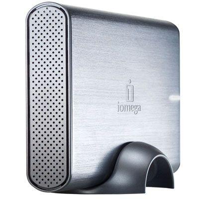 """Внешний жесткий диск Iomega Professional Desktop 3.5"""" 1000Gb USB 2.0, eSATA Silver 34290"""