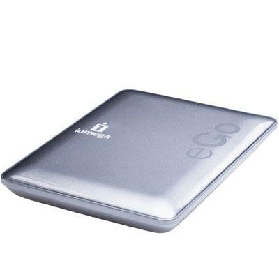 """������� ������� ���� Iomega eGo Compact 2.5"""" 320Gb USB 2.0 Silver 34890"""