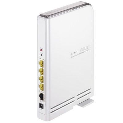 Wi-Fi роутер ASUS RT-N15 300Mbps lan