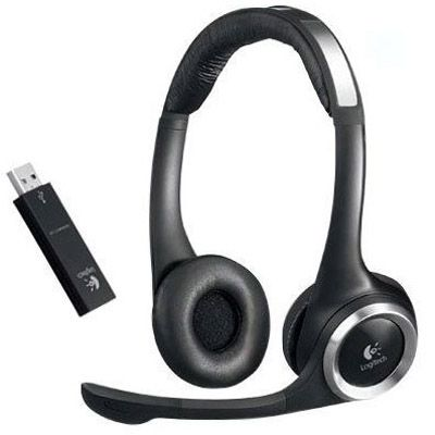 Logitech Наушники Headset ClearChat PC Wireless Stereo 981-000069