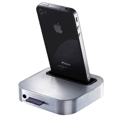 Док-станция Iomega SuperHero Backup and Charger for iPhone 35113
