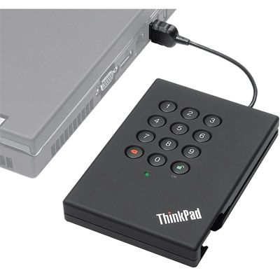 Внешний жесткий диск Lenovo ThinkPad 160Gb Secure Hard Drive USB2.0 43R2018