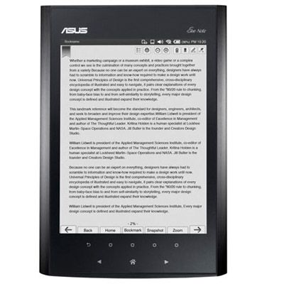 ����������� ����� ASUS Eee Note EA800