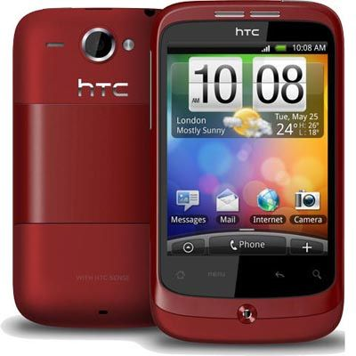 Смартфон, HTC A3333 Wildfire Red