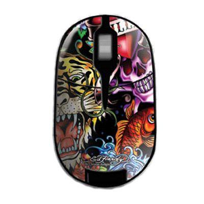 Мышь беспроводная Ed Hardy Pro Wireless Mouse Full Color MO09B04A