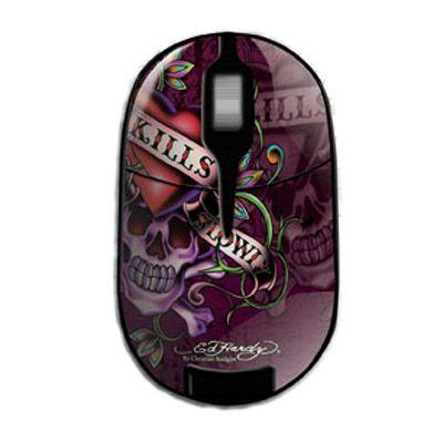 ���� ������������ Ed Hardy Pro Wireless Mouse Love Kills Slowly MO09B02F