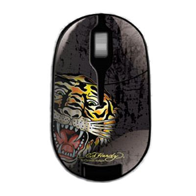Мышь беспроводная Ed Hardy Pro Wireless Mouse Tiger Black MO09B04F