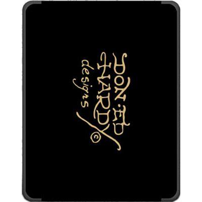 ����� Ed Hardy iPad Case Charcoal IP10A01
