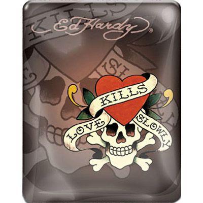 Чехол Ed Hardy iPad Case Chocolate IP10A04