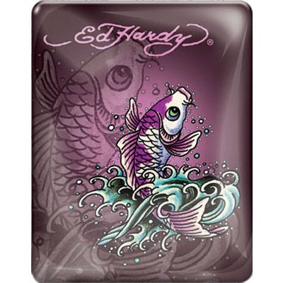 Чехол Ed Hardy iPad Case Plum IP10A07