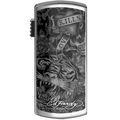 Флешка Ed Hardy 4Gb Basic Tattoo USB Key Allover Black UB09201-4