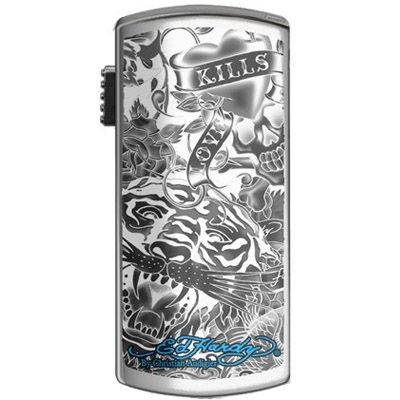 Флешка Ed Hardy 4Gb Basic Tattoo USB Key Allover White UB09202-4