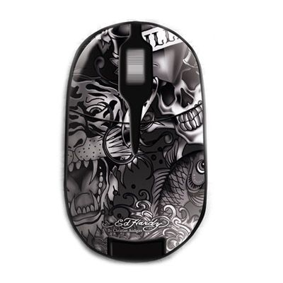 ���� ������������ Ed Hardy Pro Wireless Mouse Allover 2 Black MO09B02A