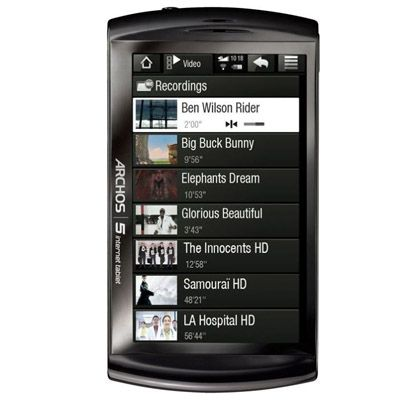 ������� Archos 5 Internet Tablet 32Gb