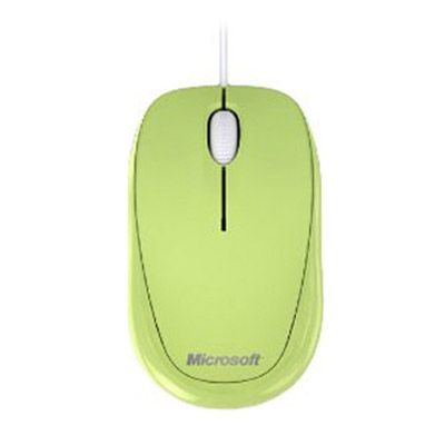 Мышь проводная Microsoft Compact Optical 500 Aloe Green USB U81-00058