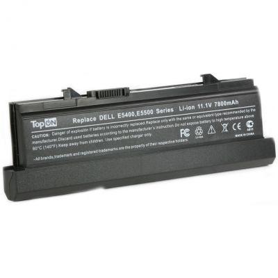 Аккумулятор TopON для Dell Latitude E5400 E5410 E5500 E5510 Series 7800mAh TOP-E5400H