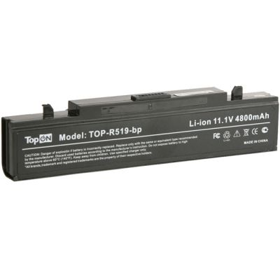 Аккумулятор TopON для Samsung R, rv Series 4400mAh TOP-R519 / AA-PB9NS6B