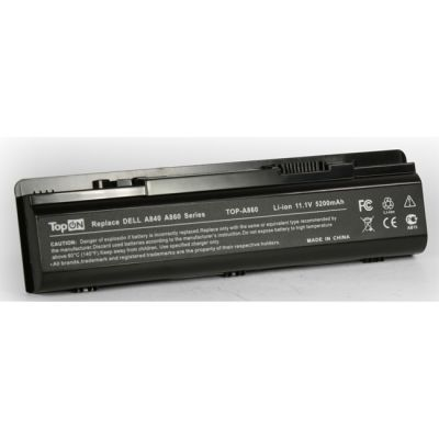 Аккумулятор TopON для Dell Inspiron 1410 Vostro A840 A860 A860n 1014 1015 Series 4400mAh TOP-A860