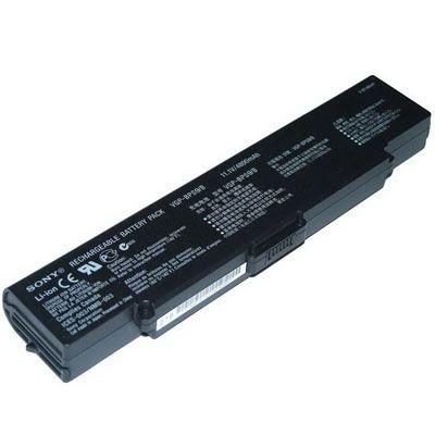 Аккумулятор TopON для Sony VAIO VGN-CR, ar, nr, SZ6 Series 5200mAh TOP-BPS9-bp / VGP-BPS9