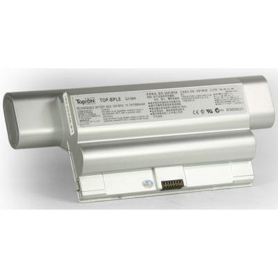 Аккумулятор TopON для Sony VAIO VGN-FZ Series 7800mAh серебристый TOP-BPL8-bp