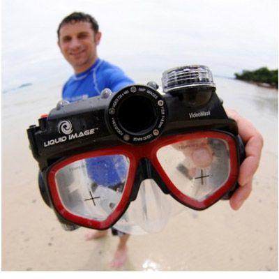 Liquid Image Подводная видео-маска LIC310 VideoMask D1 Mid-Size