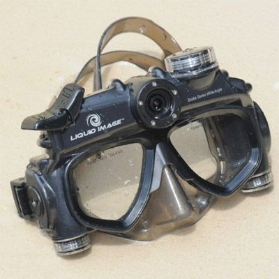 Liquid Image Подводная видео-маска LIC322 Wide Angle Scuba Series HD322 Mid-Size