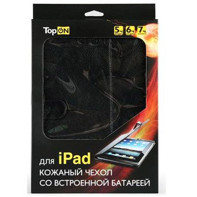 �������� TopON ����� + �����������, ���������� ������� �� 6 ����� ��� Apple iPad 5400mAh TOP-PAD
