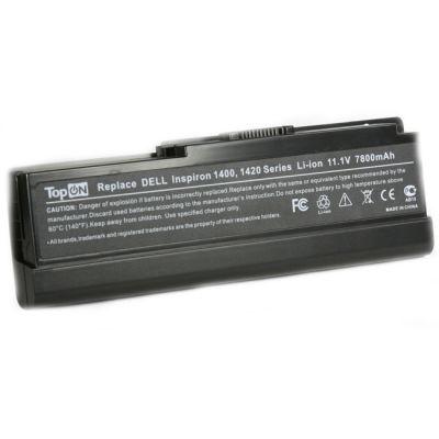 Аккумулятор TopON для Dell Inspiron 1400 1420 Vostro 1400 1420 Series 7200mAh TOP-D1400H