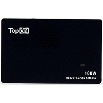 TopON ������������� ������������� �������� ��� �������� 100W, slim inverter, USB TOP-VM100A