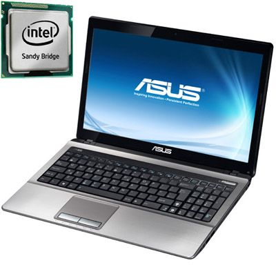 Ноутбук ASUS K53SJ i5-2410M Windows 7 /4Gb /320Gb (Silver)