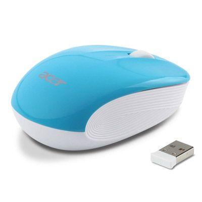 Мышь беспроводная Acer Wireless Optical Mouse Hawaii Blue LC.MCE0A.008