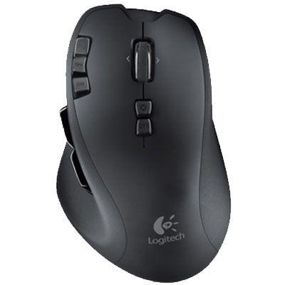 Мышь беспроводная Logitech Wireless Gaming G700 Black 910-001761