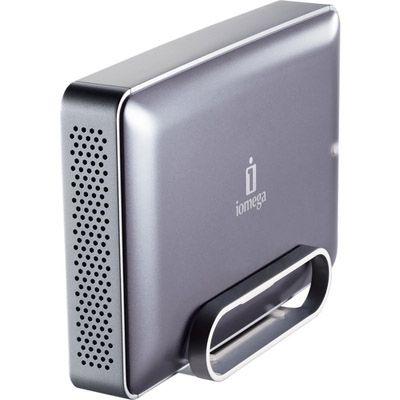 """������� ������� ���� Iomega eGo Desktop Mac Edition 3.5"""" 2000Gb USB 2.0, FireWire Silver 34797"""