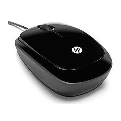 Мышь проводная HP оптическая мобильная USB XQ500AA