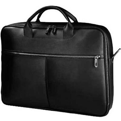 "����� Dell Leather Premium Carrying Case Black 15.4"" 460-10302"