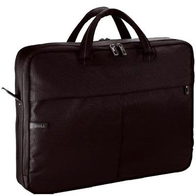 "����� Dell Nylon Top Load Carrying Case Black 15.4"" 460-10291"