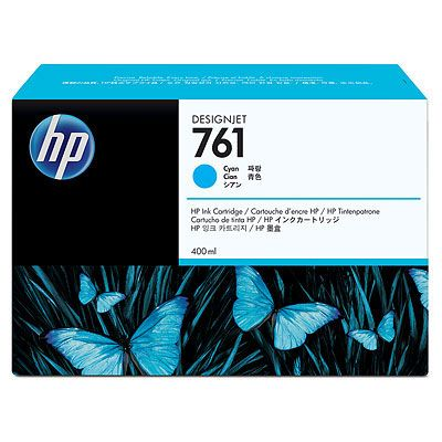 Картридж HP 761 Cyan/Голубой (CM994A)