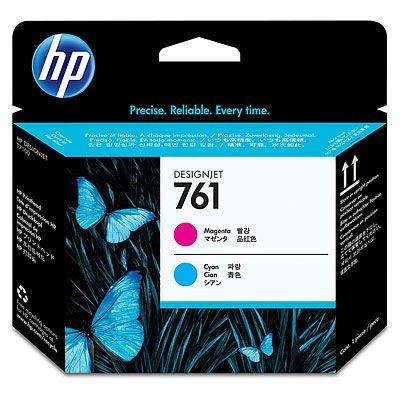 HP Печатающая головка 761 Magenta/Cyan-Пурпурный/Голубой (CH646A)