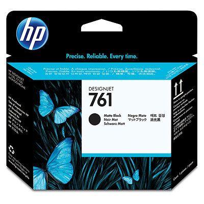HP Печатающая головка 761 Matte Black/Матовый Черный (CH648A)