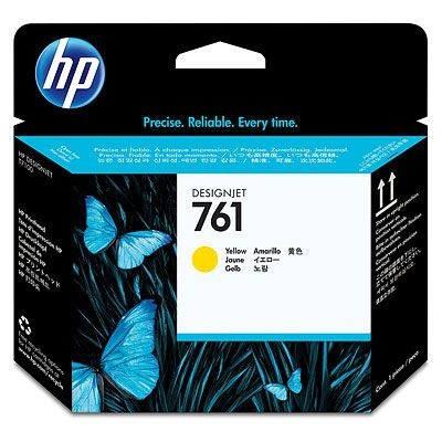 HP ���������� ������� 761 Yellow/������ (CH645A)